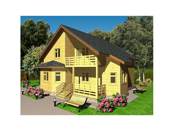 Проект дома на 151 кв м по Ярославскому шоссе