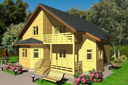 Проект дома на 151 кв м по Щелковском шоссе