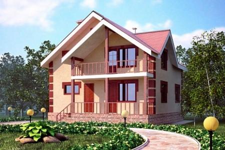 """Проект дома """"Радость"""" по Щелковском шоссе"""