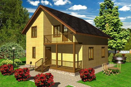 Проект дома на 138 кв м по Щелковском шоссе