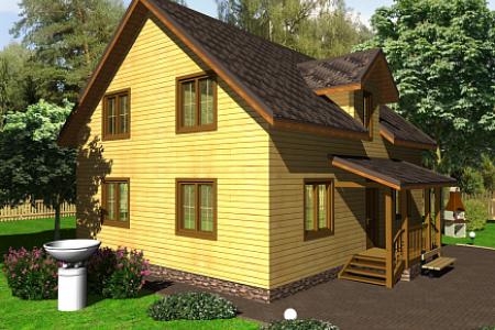 Проект дома на 176 кв м по Щелковском шоссе