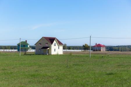 Экокотеджи в дачном поселке Зеленцино