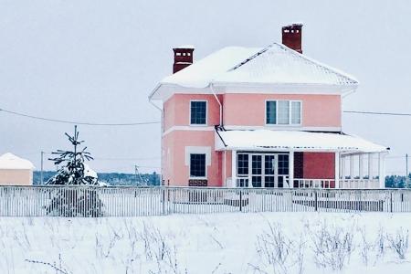 Современный дизайн дома в Зеленцино